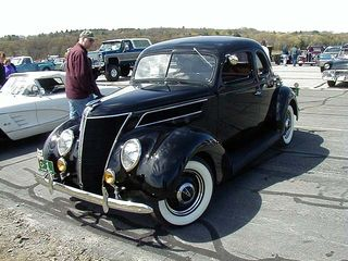 Fast and smart the 1937 Ford