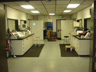 Dyno room at Gaerte Engines