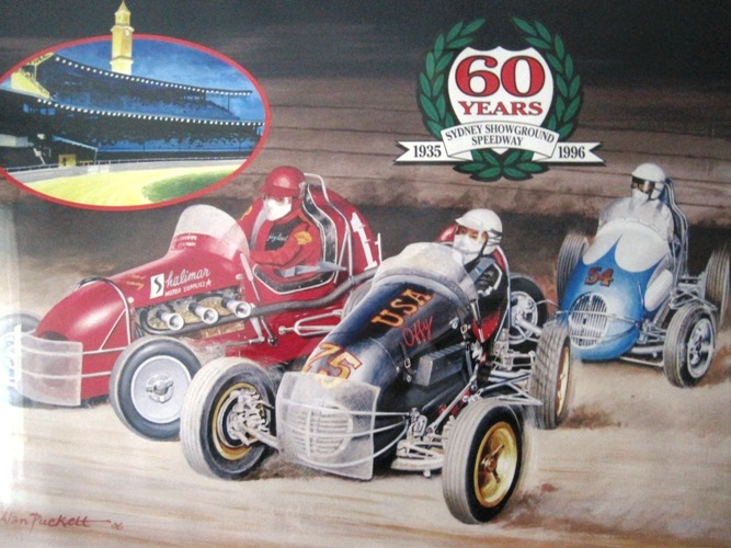 Alan Puckett Motorsport Art