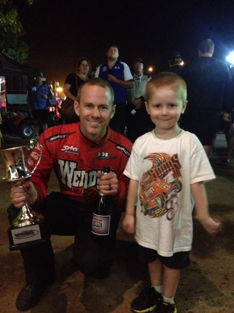 Capt USA Jerry Coons Jr after winning the North Island Title in 2012 at Western Springs