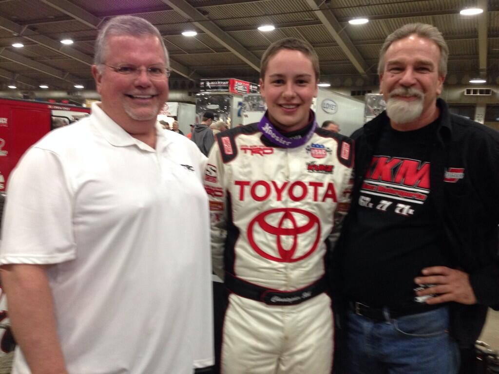 The Kunz Toyota Team with Christopher Bell
