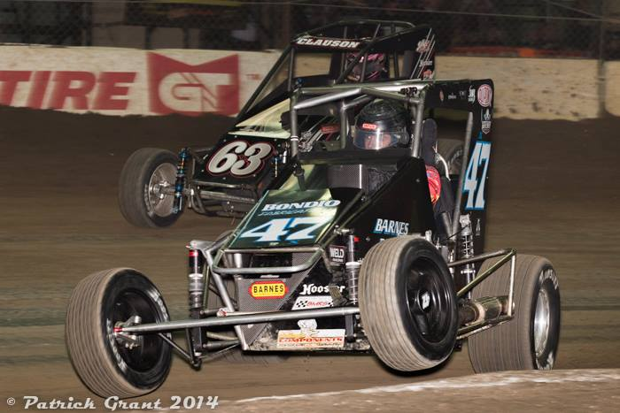 McCreadie leads Clauson at the Chili Bowl