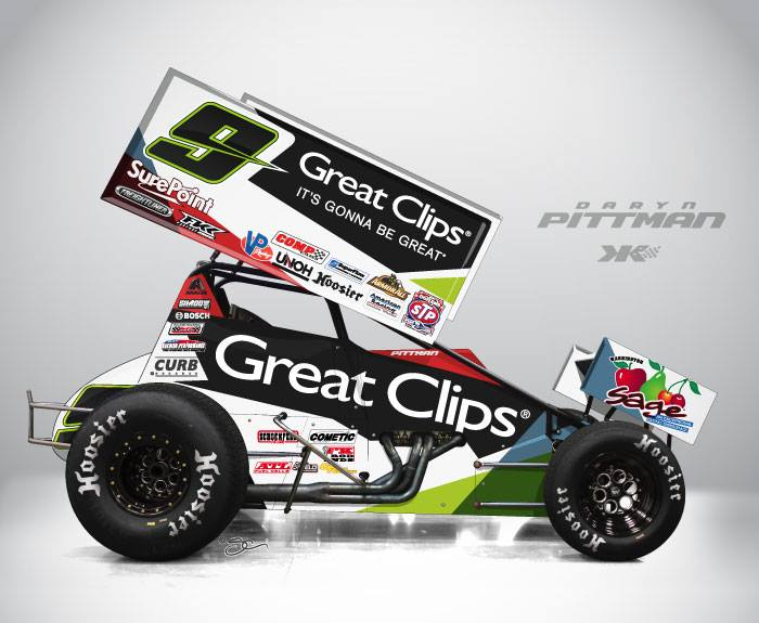 2014 livery for Daryn Pittman