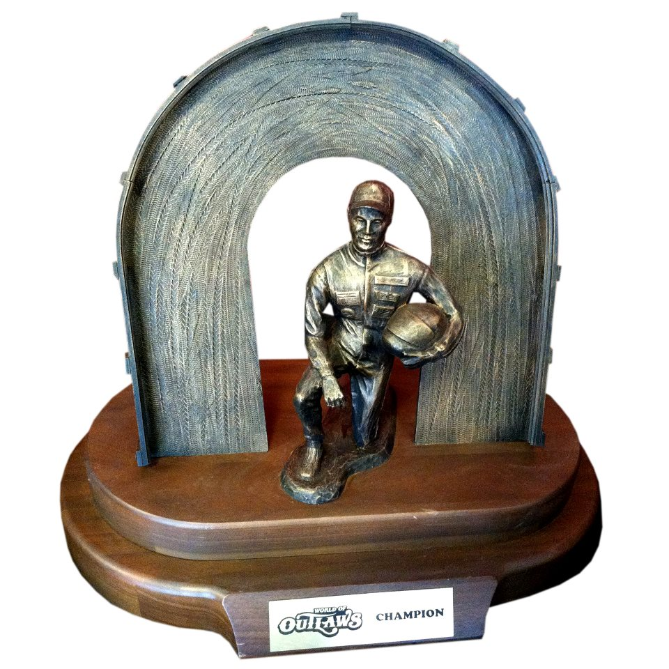 The Trophy that Daryn Pittman will try to defend