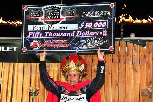 Kerry Madsen King Royal winner 2014