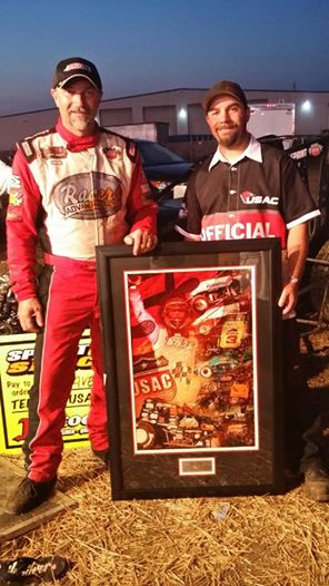 Dave Darland and Rich Forman and the Photo Photo credit USAC-Rich Forman