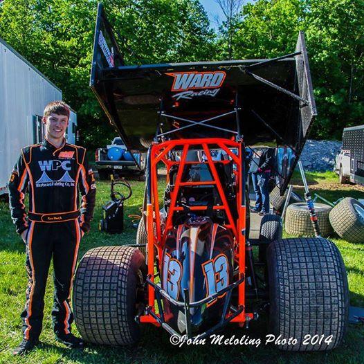 Kevin Ward jr Pic credit Brewerton Speedway