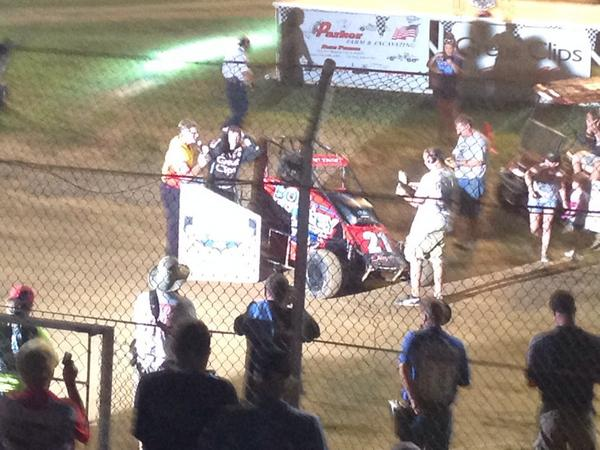Pittman wins the Leffler memorial 2014