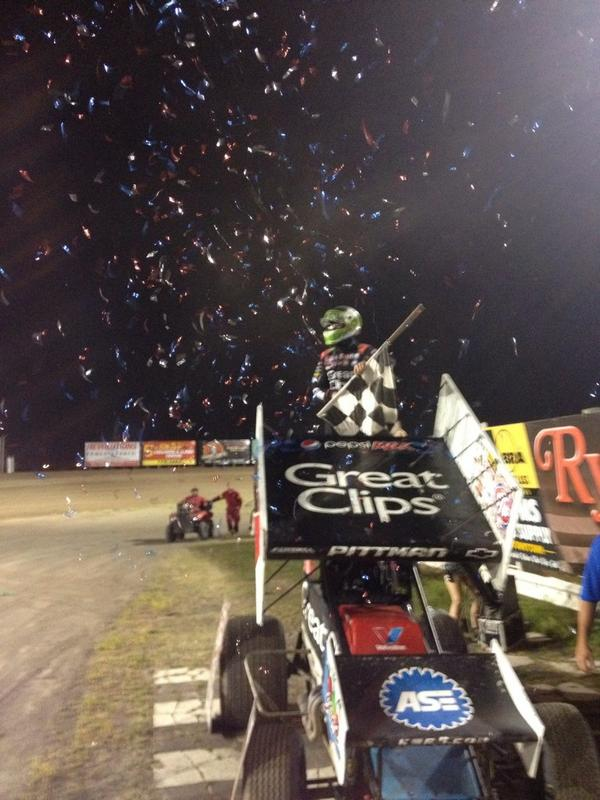 Pittman win number 12 at River City Pic-WoO