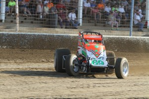 Brady Bacon leads the race to the 2014 USAC Sprint Title