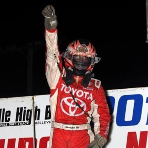 Defending USAC National Midget Champ Christioher Bell
