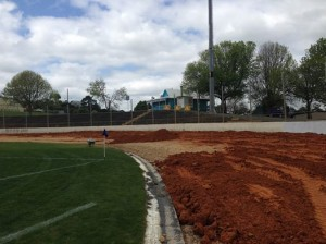 Western spring get a new raceing surface  Pic credit Western Springs
