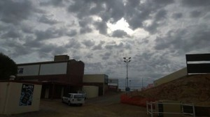 Early weather over Speedway City  Credit SASA