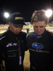 Lee Redman and Dayne Kingshott disappointed at running second in the magic man 34 Pic credit Lee redman