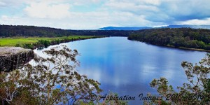 The Shoalhaven river Nowra