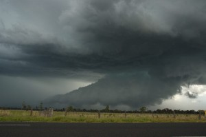 Storms over Lismore