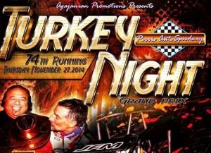 Turkey night poster