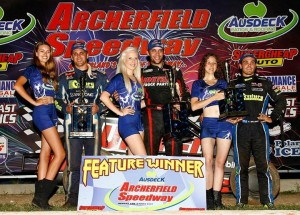 Picken,Clauson,Williams Podium POWRi Worlds Brisbane