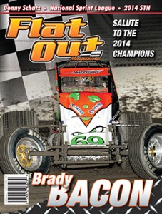February 2015  Brady Bacon on the cover