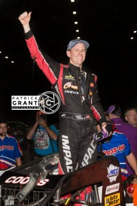 Jerry Coons wins at the Chili Bowl Pic credit Patrick Grant