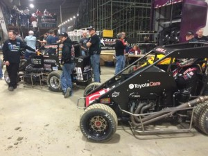 Swindell and Bell ready for the John Christner Trucking Preliminary Final