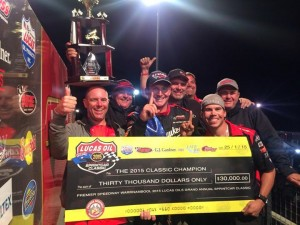 Kyle Hirst and the Monte Motorsports team winers of the 43rd Classic