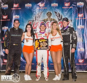 Chili Bowl podium night one  Credit Patrick Grant