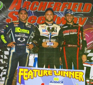 Pickens, Mosen,Clauson on the podium at POWRi Worlds