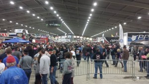 Pits still rocking at the end of day Pic -Chili Bowl National
