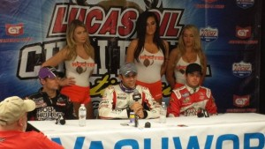 Press conference after night 4 Chili Bowl Pic-Chili Bowl Nationals