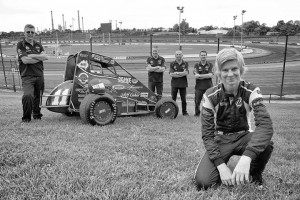 Kaiden Manders and McAllan team at Valvoline Pic credit valvoline Raceway