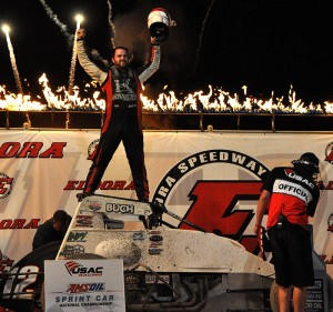 Robert Ballou winner USAC night one Eldora
