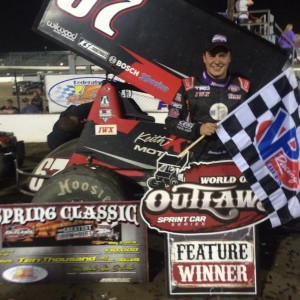 Bell wins at 1-55 with the Outlaws
