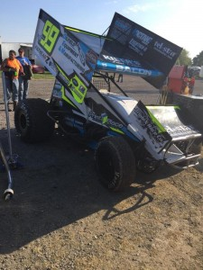 Brady Bacon wings it to 2nd at Tri State