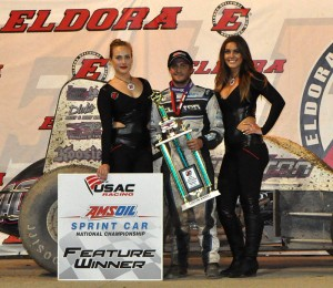 Justin Grant USAC winner night two Eldora