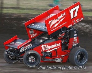 The Milwaukee Tools Monte Motorsports W#17