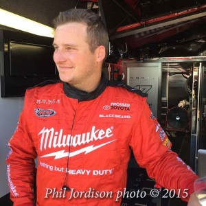 Hirst Milwaukee Tools/Monte Motorsports perfect fit