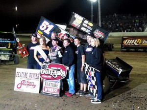 McMahan and crew at Tri State