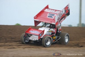 Jason Sides doing what he does best race fast