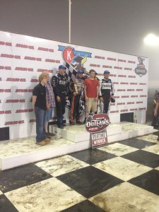 Knoxville podium at 2AM Knoxville