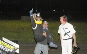 First Sprintcar win for Isaac Schreurs