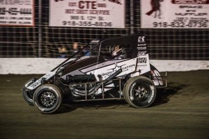 Spencer Bayston gets his best ever USAC result at Gas City