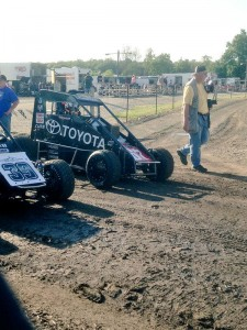 Thorson heading out at Gas City
