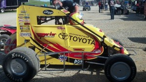 Tracy Hines now heads the points in the USAC National chase