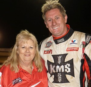 Wendy Turner Speedway City and WSSC Champion Brooke Tatnell