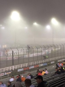 Fans under the weather at Knoxville