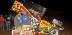 Griffith beats Kinser at Bulter