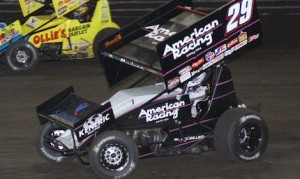 Kerry Madsen in the #29