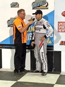 Kerry Madsen 2nd at Knoxville 2015 Knoxville Pic