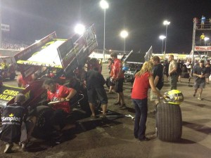 Terry McCarl at fuel stop